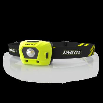 Wiederaufladbare LED Stirnlampe Unilite HL-4R