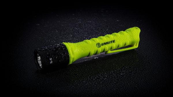 Tauchbare LED Taschenlampe Unilite TL-5